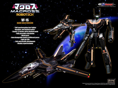 KitzConcept - ROBOTECH - 1:72 VF-1S Dark Gold Limited Edition