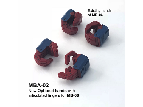 Fans Hobby - MBA-02 Articulated hands for MB-06 FANS HOBBY - TOYBOT IMPORTZ