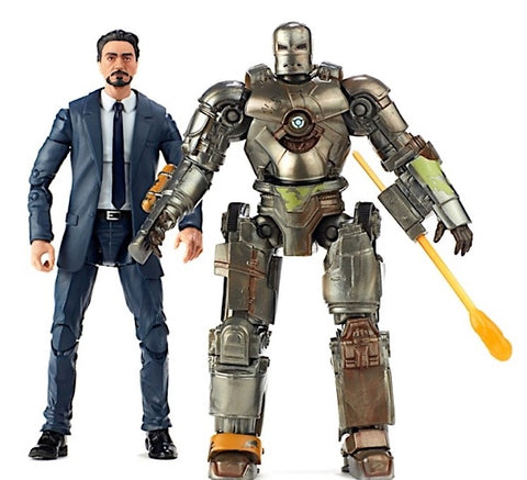 Marvel Legends - MCU 10th Anniversary - Tony Stark & Iron Man Mark I HASBRO - TOYBOT IMPORTZ
