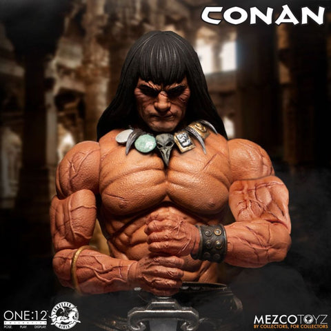 Mezco - One:12 Collective - Conan the Barbarian: Conan the Barbarian Mezco - TOYBOT IMPORTZ