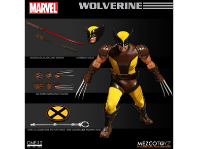 Mezco - One:12 Collective - X-Men - Wolverine - TOYBOT IMPORTZ