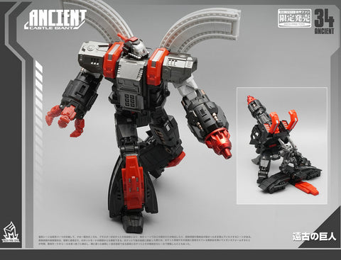 MFT [Mechfanstoys] - MF34A Ancient Castle Giant - TOYBOT IMPORTZ