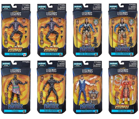 Marvel Legends - Black Panther Wave 2 - Set of 8 - TOYBOT IMPORTZ