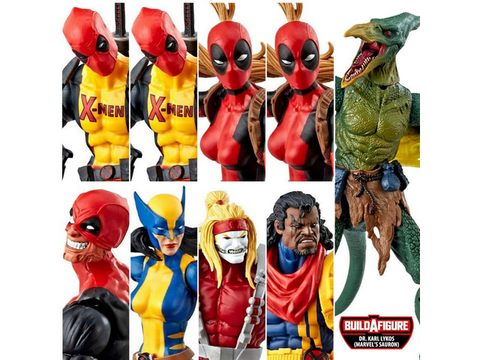 "Marvel Legends - Deadpool 2018 Wave 2 - 6"" Set of 8 HASBRO - TOYBOT IMPORTZ"