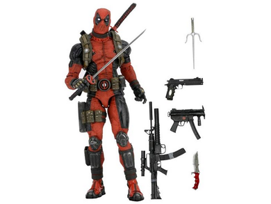 NECA - Marvel – 1/4 Scale Action Figure – Deadpool - TOYBOT IMPORTZ