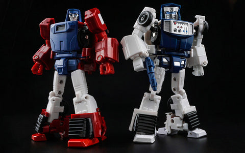 X-Transbots - MM-VI Boost & MM-VII Hatch Set [TOON VERSION]
