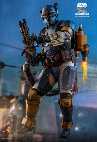 Hot Toys - Star Wars: The Mandalorian - Heavy Infantry Mandalorian Hot Toys - TOYBOT IMPORTZ