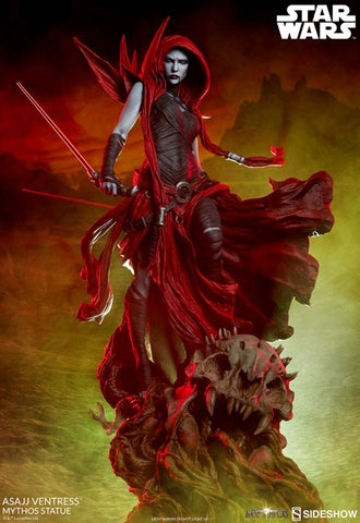 Sideshow Collectibles - Star Wars: Asajj Ventress Mythos Statue Sideshow Collectibles - TOYBOT IMPORTZ