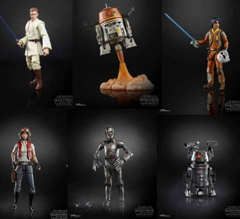 Star Wars - The Black Series Wave 21 Case HASBRO - TOYBOT IMPORTZ