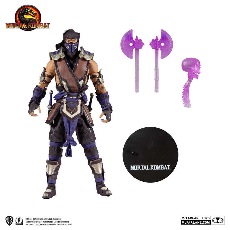 McFarlane Toys - Mortal Kombat: SUB-ZERO (WINTER PURPLE SKIN)