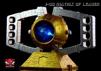 Junkion Blacksmith - J-08 Matrix of Leader - TOYBOT IMPORTZ