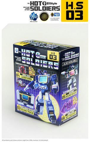MECH PLANET - THS-03 & THS-04 (SOUNDWAVE & LASERBEAK) MECH PLANET - TOYBOT IMPORTZ