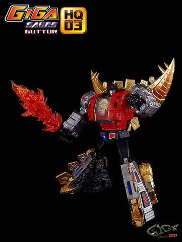 GigaPower - HQ-03 - Guttur - Metallic Version - Reissue - TOYBOT IMPORTZ