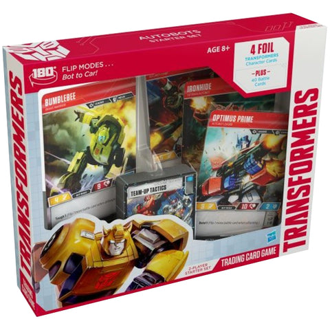 Transformers - Trading Card Game - Autobot Starter Set Wizards of the Coast - TOYBOT IMPORTZ