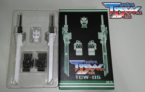 Transform Dream Wave - TCW-05 Titans Returns Sixshot Upgrade Kit