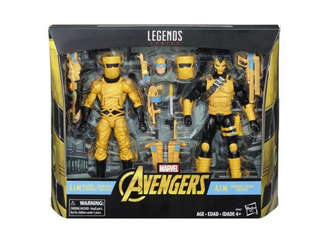 Marvel Legends - AIM Scientist & Shock Trooper Exclusive HASBRO - TOYBOT IMPORTZ