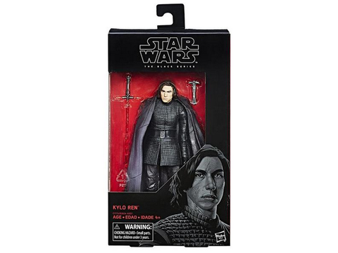 "Star Wars - The Black Series 6"" Kylo Ren - TOYBOT IMPORTZ"