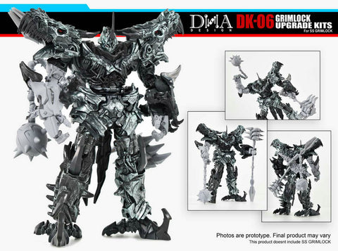 DNA Design- DK-06 - Upgrade Kit - TOYBOT IMPORTZ