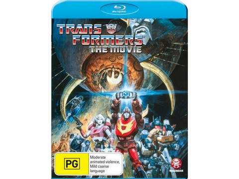 Transformers The Movie 1986 - (Blu-Ray Disc)