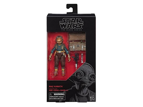 "Star Wars - The Black Series 6"" Maz Kanata - TOYBOT IMPORTZ"