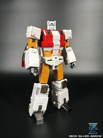 Zeta - ZB-03 Silver Arrow