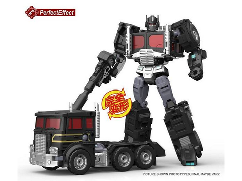 Perfect Effect PC-20 BLACK JINRAI Perfect Effect - TOYBOT IMPORTZ