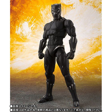 S.H.Figuarts - Avengers :  Infinity War - Black Panther - TOYBOT IMPORTZ