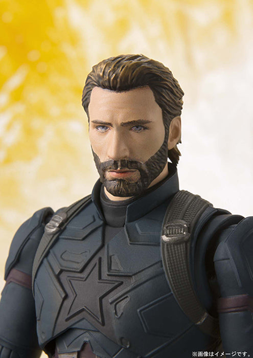 S.H.Figuarts - Avengers :  Infinity War - Captain America w/Tamashii Effect S.H.Figuarts - TOYBOT IMPORTZ
