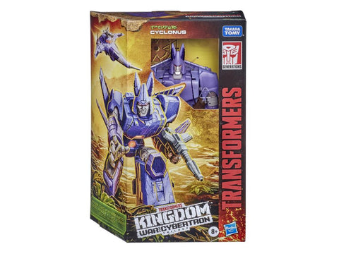 Transformers - WFC: Kingdom - Voyager Cyclonus