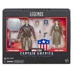 Marvel Legends - 80th Anniversary: Captain America WWII & Peggy Carter HASBRO - TOYBOT IMPORTZ