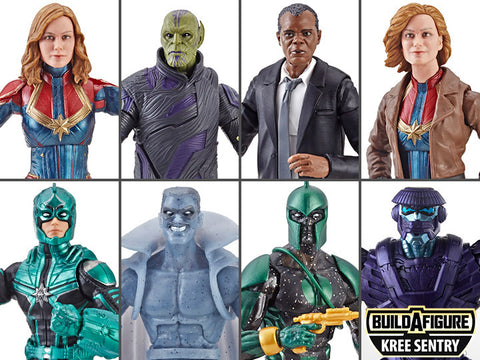 Marvel Legends - Captain Marvel Wave 1 - Set of 8 - TOYBOT IMPORTZ