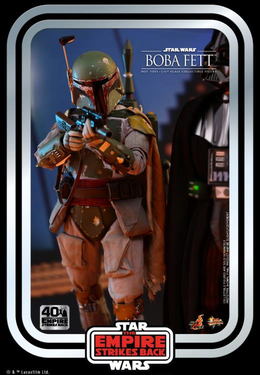 Hot Toys - Star Wars: Boba Fett 40th Anniversary 1:6 Scale Action Figure