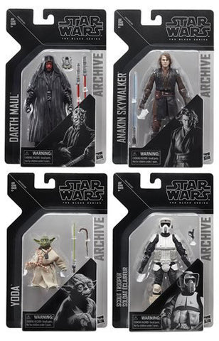 Star Wars - The Black Series Archive Wave 2 Set of 4 HASBRO - TOYBOT IMPORTZ