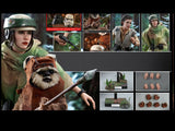 Hot Toys - Star Wars - Leia & Wicket [Return of the Jedi] Hot Toys - TOYBOT IMPORTZ