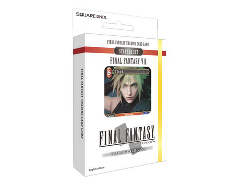 Final Fantasy TCG - Starter Set - Final Fantasy VII Square Enix - TOYBOT IMPORTZ