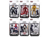 "Marvel Legends - Venom 2018 Wave 1 - 6"" Set of 8 - TOYBOT IMPORTZ"