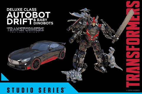 Studio Series - Drift with Baby Dinobots- Exclusive