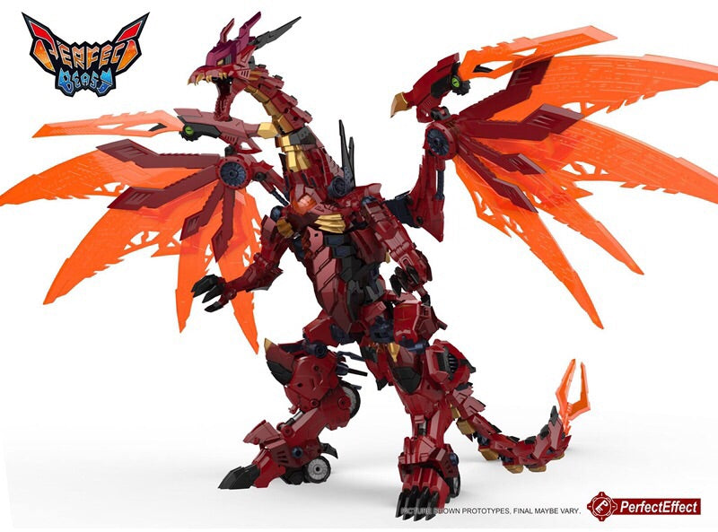 Perfect Effect - PE-DX09 MEGA DORAGON Perfect Effect - TOYBOT IMPORTZ