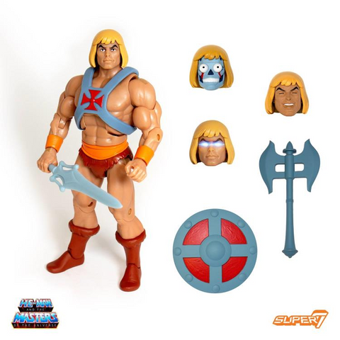 Super7 - MOTU Ultimates Club Grayskull - He-Man