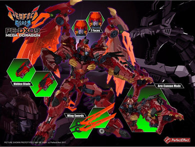 Perfect Effect - PE-DX09 MEGA DORAGON *Preorder*