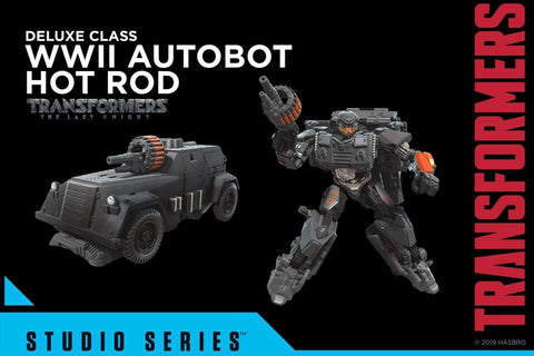 Transformers - Studio Series: WWII Hot Rod HASBRO - TOYBOT IMPORTZ