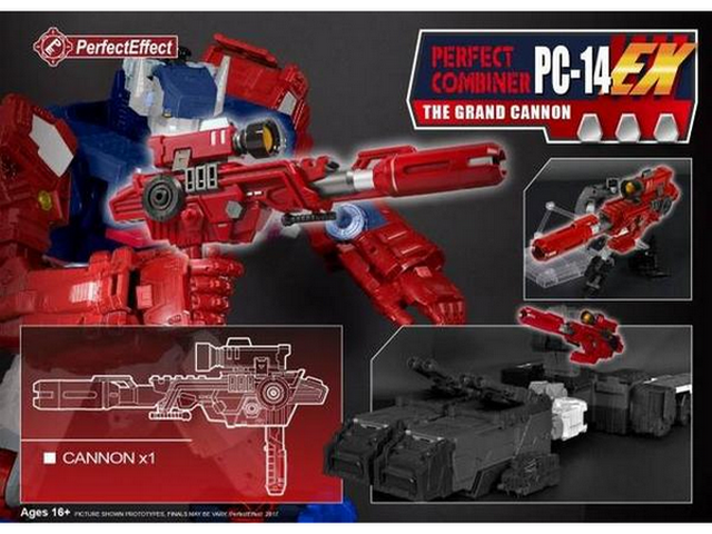 Perfect Effect PC-14EX - Grand Cannon - TOYBOT IMPORTZ