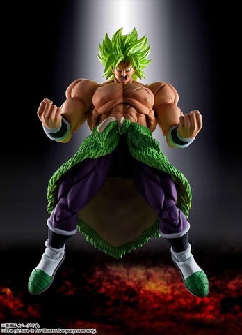 S.H.Figuarts - Dragonball Super - Super Saiyan Broly Full Power