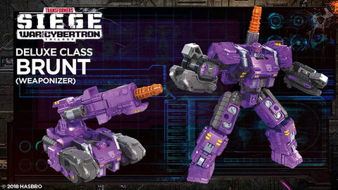 Transformers WFC Siege - Deluxe Brunt HASBRO - TOYBOT IMPORTZ