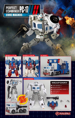 Perfect Effect PC-17 CORE MAGNUS *PREORDER* - TOYBOT IMPORTZ