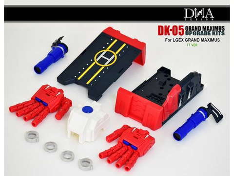 DNA Design- DK-05 - Upgrade Kit - TOYBOT IMPORTZ