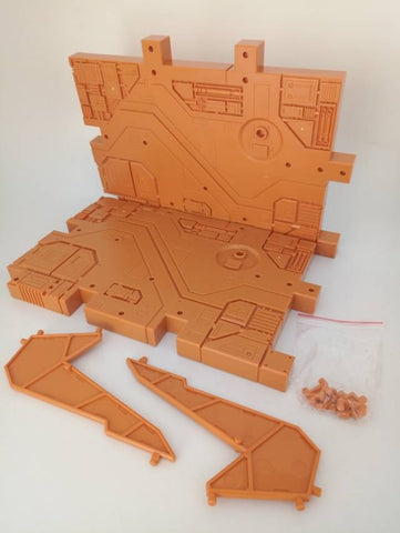 Zeta - Zeta Ex Display Base - ORANGE ZETATOYS - TOYBOT IMPORTZ