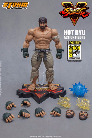 Storm Collectibles - Street Fighter V Hot Ryu SDCC 2017 Exclusive Storm Collectibles - TOYBOT IMPORTZ