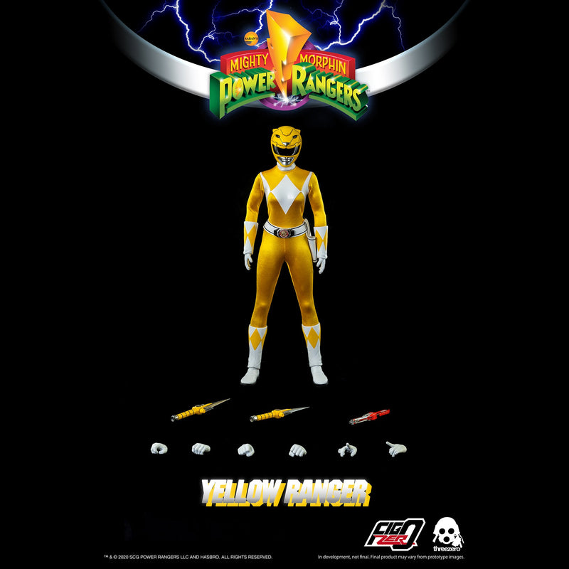 Mighty Morphin Power Rangers:  Yellow Ranger 1/6 Scale Figure