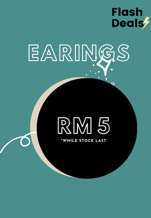 RM5 Special Flash Deal Earings